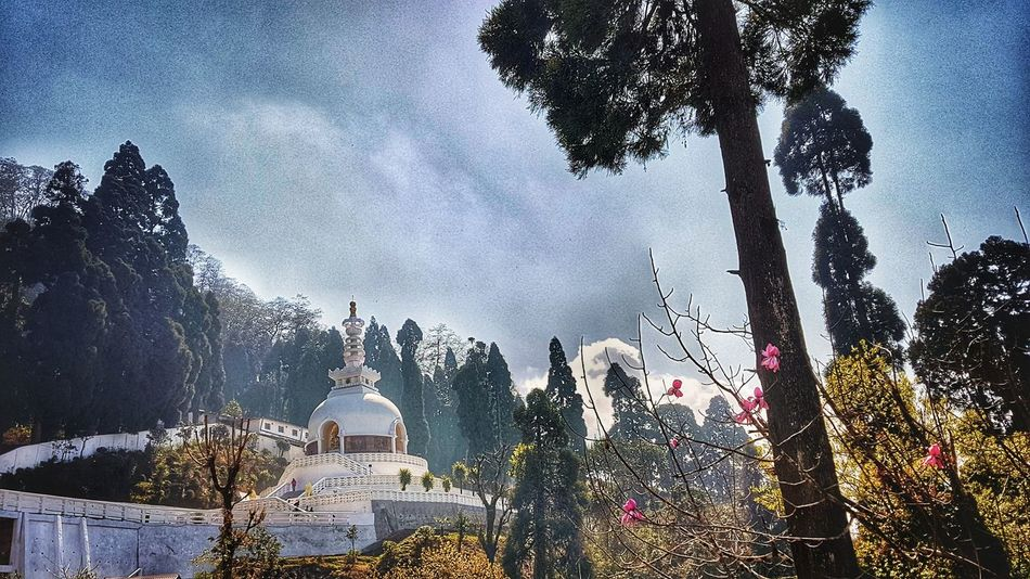 Japanese shrine Darjeeling India Beauty In Nature Outdoors S7Edgecamera S7edgephotography S7 S7 Photography Samsungs7edge Japanesetemple HDR Hdr Edit