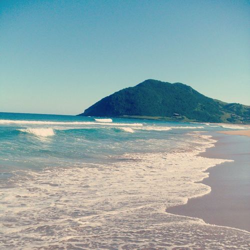 a mais linda. Silveira SC Beach Praia Areia Mar