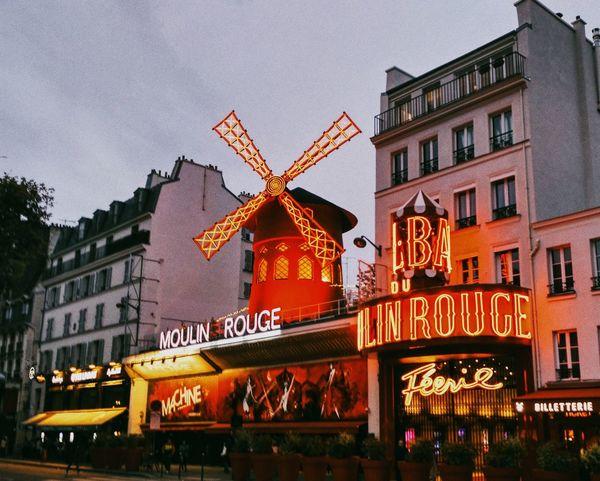 Moulin Rouge Paris Moulin Moulinrouge Paris, France  France First Eyeem Photo