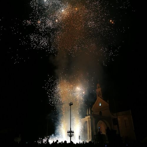 Focs a Misericòrdia Night Arts Culture And Entertainment Firework Display Event Firework - Man Made Object Celebration Illuminated People Star - Space Outdoors Sky Popular Music Concert Astronomy First Eyeem Photo