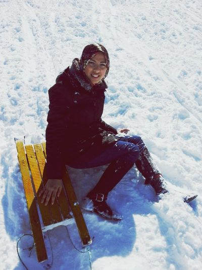 Had a great moment in snoooow