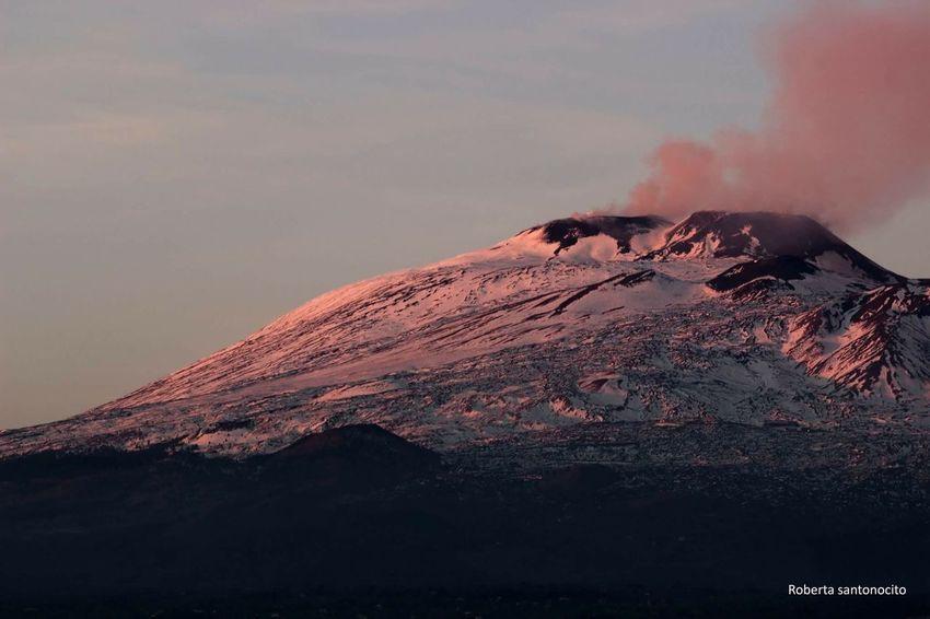 Etna Etna Sicily Italy Snow Phrobisantos EyeEm Mountain