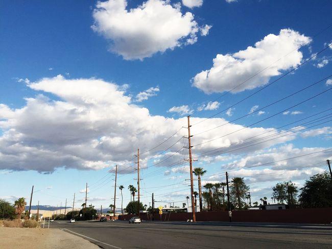 Thousand Palms California California Desert Other Desert Cities Clouds And Sky Commuting