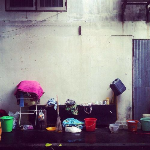 Architecture City Life Day Outdoors Person Pink Color Streetart Streetmoment Streetpeople Streetphotography Streetthailand