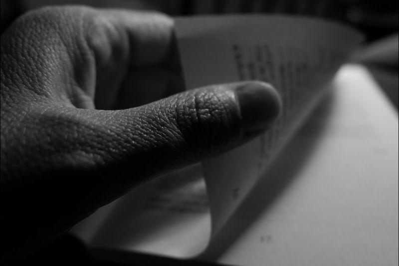OKU Blackandwhite OKU Human Hand Ink Close-up Fingerprint Handprint Index Finger Obscene Gesture Finger Human Finger EyeEmNewHere