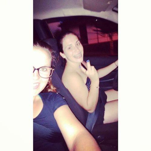 Voltinha com a minha mais nova motorista 💜 Prima énois Nãoandamuitoligeiro Nicodofreio atequedirigebem instalove instahappy ❤✌👌