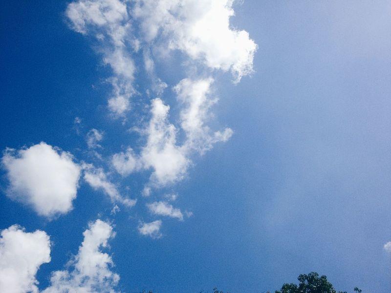 EyeEm Malaysia Skyscape Sky Blue Sky Hello World Blue Clouds