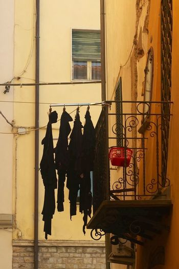 Wash Day In Venice