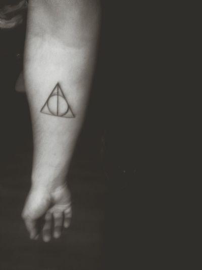 That's Me Tattoo Deathlyhallows
