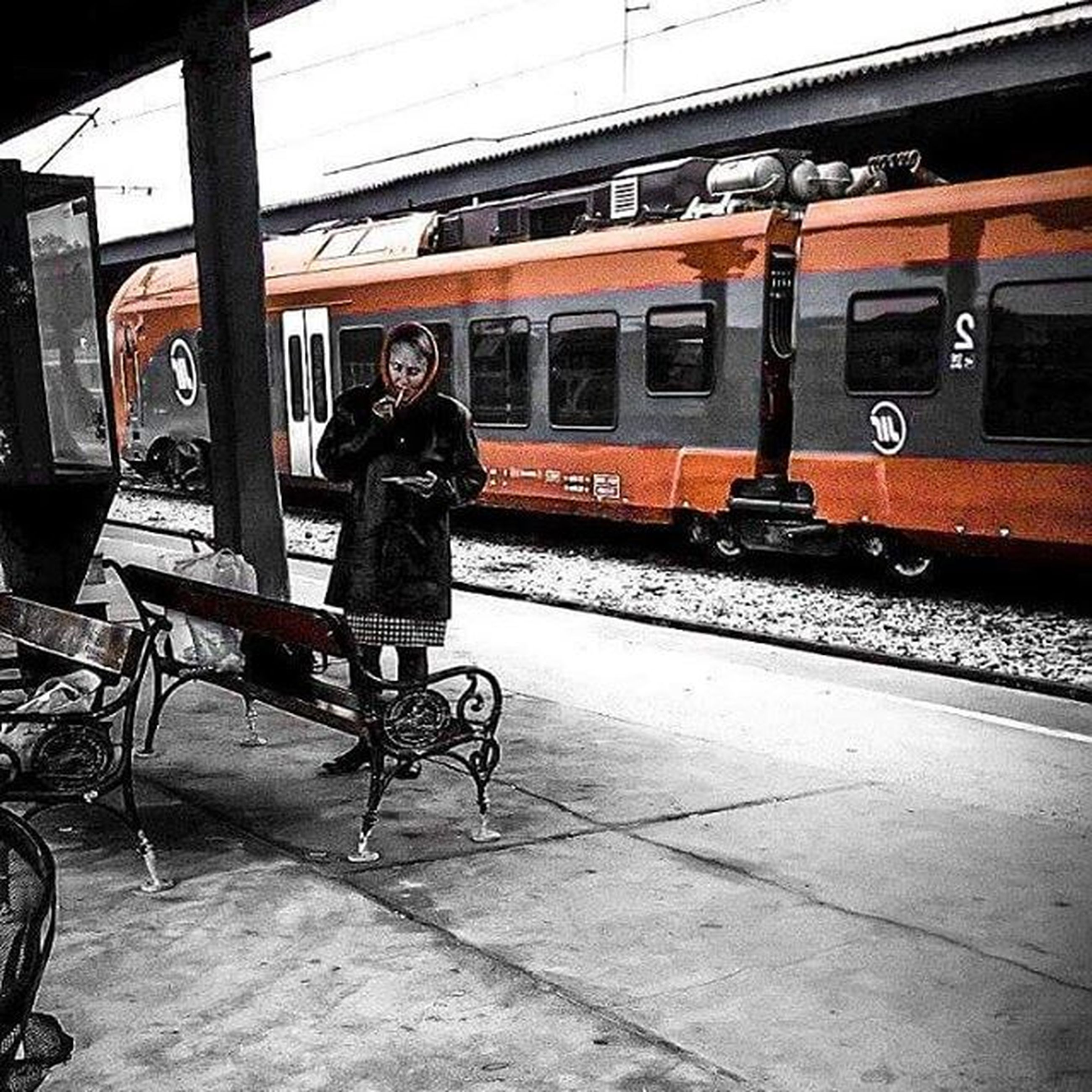 transportation, mode of transport, land vehicle, travel, full length, car, men, bicycle, lifestyles, public transportation, riding, street, stationary, on the move, train - vehicle, leisure activity, rear view, side view