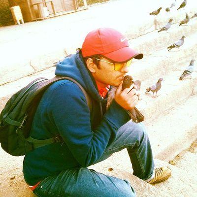 Love them...pigeons! Sankey Karnataka Bangalore Birds Birdsofinstagram Nike Weekends