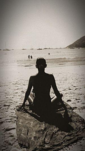Hello World Sea Beach Beautiful Hi! That's Me Relaxing Sunset Silhouettes Beautiful Nature Enjoy