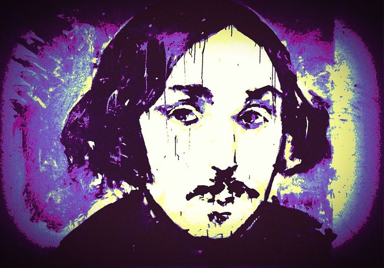 ArtWork Art, Drawing, Creativity Gogol Writer Ukraine Ukraine_art UA