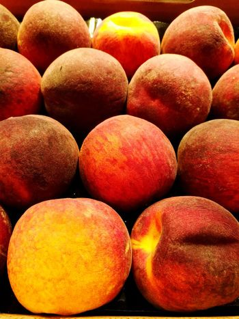 Healthy Eating Fruit Food Food And Drink Freshness Healthy Lifestyle Large Group Of Objects No People Close-up Eating Nature Day Grocery Shopping Abundance Sweet Food LoveNature Supermarket Ready To Eat! Peaches🍑 Peach