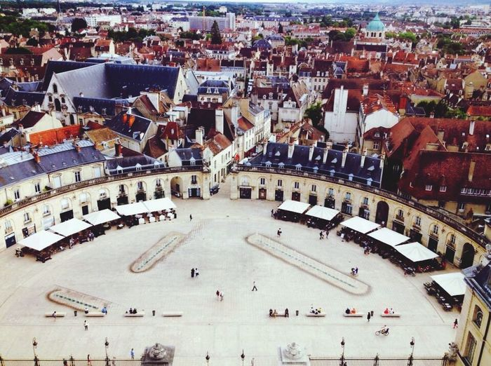 Dijon Place de Liberation France Liberation Square Birds Eye View City View  Looking Down From Above Historical Place Historical Building Eye Em Travel Eye Em Gallery Bourgogne Burgundy Wine Region