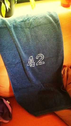Es ist Towel day und ich weiß, wo mein Handtuch ist. 42  Towelday