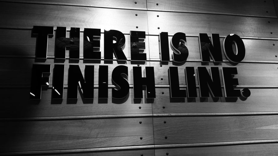 There is no finish line! Nike EyeEm Team Nikerunning NikeStore Thereisnofinishline Eye4photography  Blackandwhite Blackandwhite Photography Samsung Galaxy Camera