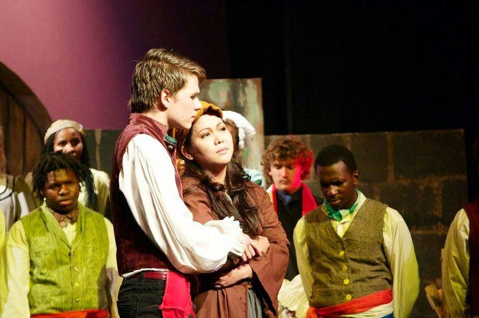 Les Mis Marius Eponine Theatre