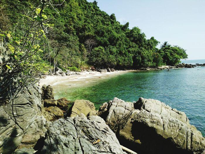 Travel Thailand Sea Landscape Beach Sky Sea Nature Outdoors Water Sunlight Nature Tree No People Sunlight