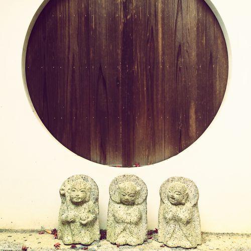 見よう言おう聞こう地蔵 Kyoto Kodaiji Jizou 京都 高台寺