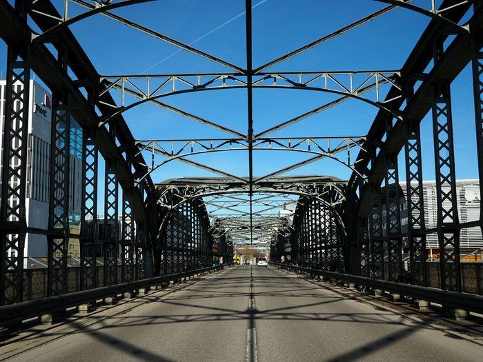 Hackerbrücke, München, Bayern, Deutschland. Bridge - Man Made Structure Bridge Bridgeporn Transport Steel Steel Structure  Metal Structure Hackerbrücke Munich Muenchen