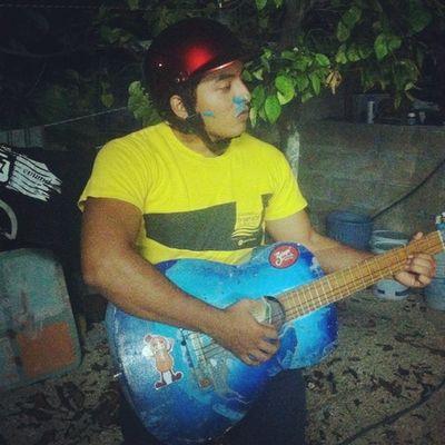 HBD Ilovemusic Night Friends cake blue serenata yQue