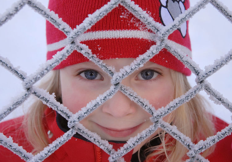Blonde Frost Happiness Happy Norge Norway Stavanger Winter Child Cold Day Front View Girl Headshot Human Face Looking At Camera One Person Outdoors People Portrait Real People Snow