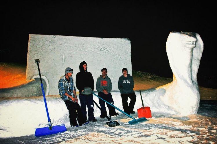 Basteln Mit Schnee