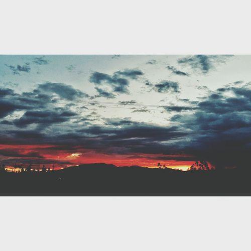 Sunset Sunset_collection Sunset Silhouettes sunset #sun #clouds #skylovers #sky #nature #beautifulinnature #naturalbeauty photography landscape Nature landscape Landscape_Collection Landscapes Landscapephotography Landlovers Landl First Eyeem Photo