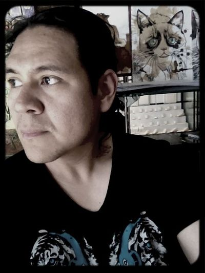 Me ... Self Portrait Enjoying Life