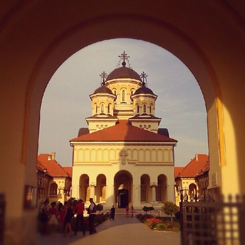 Orthodox Cathedral Instagram Htclegend Photography Dailyphoto instaphoto cathedral church Alba Iulia outdoor fortress view citadel history city