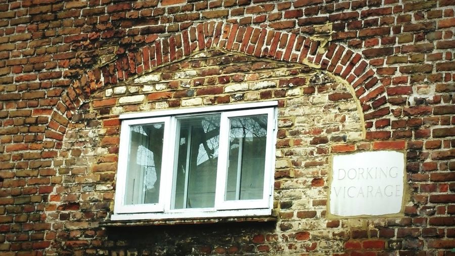 Window Brick Wall Old Brickwork Vicarage Old Building  House Historic Buildings  Listed Building