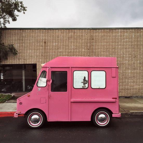 Little pink ice cream trucks for you and me Vscocam VSCO Vscogood