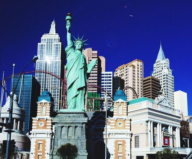 New York in Vegas. EyeEm Best Shots New York Las Vegas Boulevard
