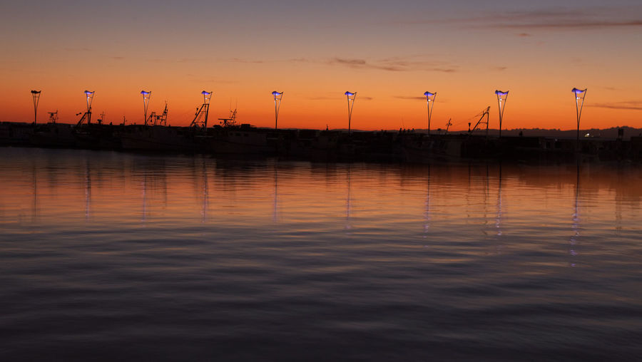 Sunset with reflection in Koper Beauty In Nature Calm Capodistria Cloud Environment Koper Orange Orange Sky PhotoFeliceSo Scenics Sea Silhouette Sky Slovenia Slovenija Sunset Tranquil Scene Tranquility Water Waterfront
