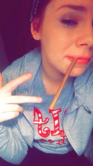 Blunt Blowing Bud Loud. Weed