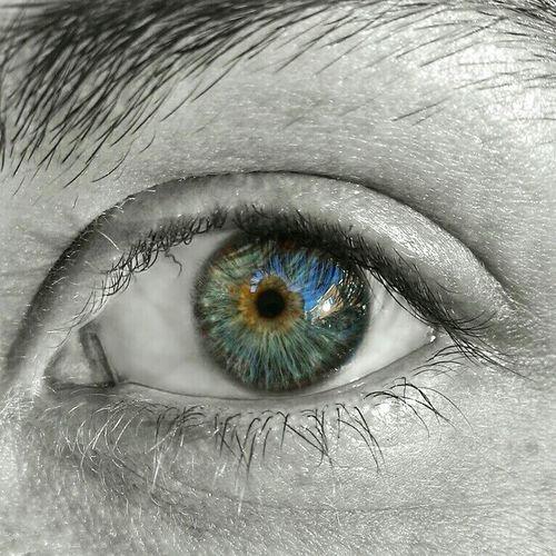 @lupusdei eye. I love you ❤ Eyes Eye Blue Eyes Blackandwhite Black & White Black And White Colorsplash Love ♥ Lovehim Humaneye