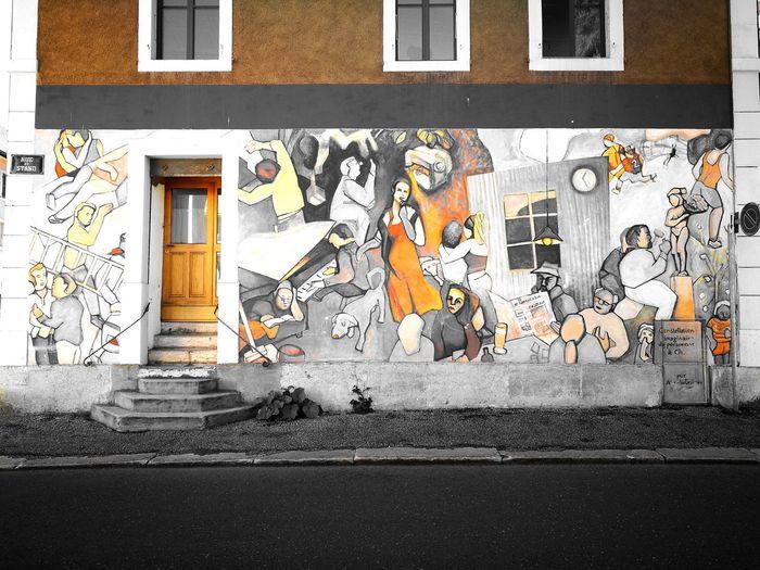Streetart Monday Sunshine ☀ Beautiful Painting Wall Hello World Waouuuu ❤❤