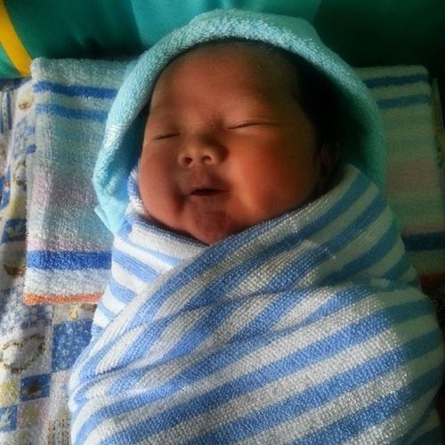 My Babyfruit Nephew  Cute Baby welcome to the family.. so inlove with him..