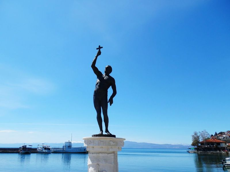 Statue Art Traveling Ohrid Lake Tourism Travel Lake View Ohrid EyeEm Best Shots The Great Outdoors - 2016 EyeEm Awards Outdoors