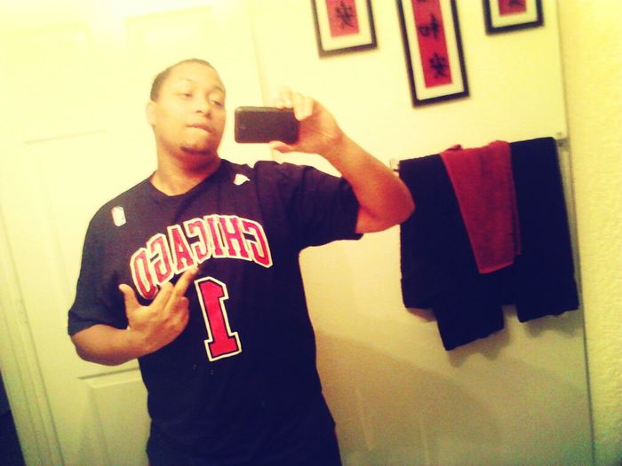 even wen a nigga sick I stay reppin my team #Bullnation