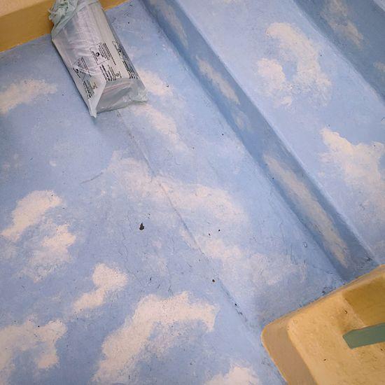 Painted Floor Steps Clouds Open Edit Sky Sky Painting  Noe Valley
