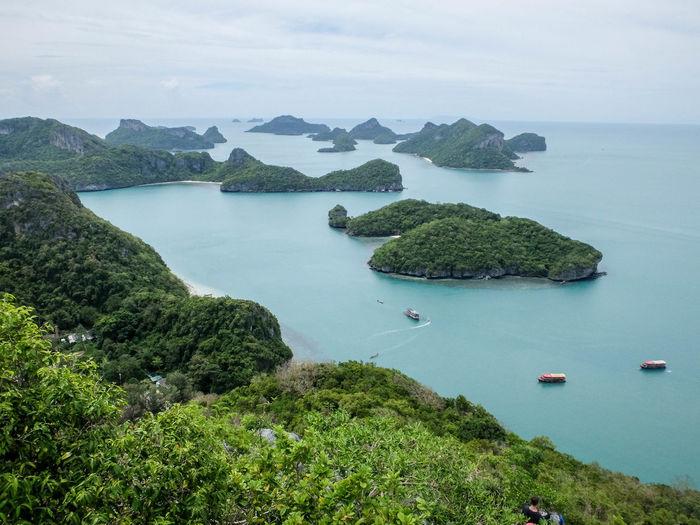 Hiking Island Islands Marine Park National Sea Viewpoint Water Ko Samui Island Art Islands