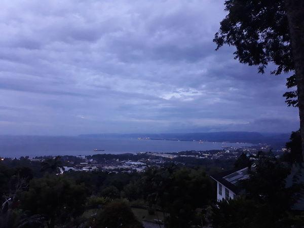EyeemPhilippines Astronomy City Tree Cityscape Water Mountain Sky Architecture Landscape Horizon Over Water