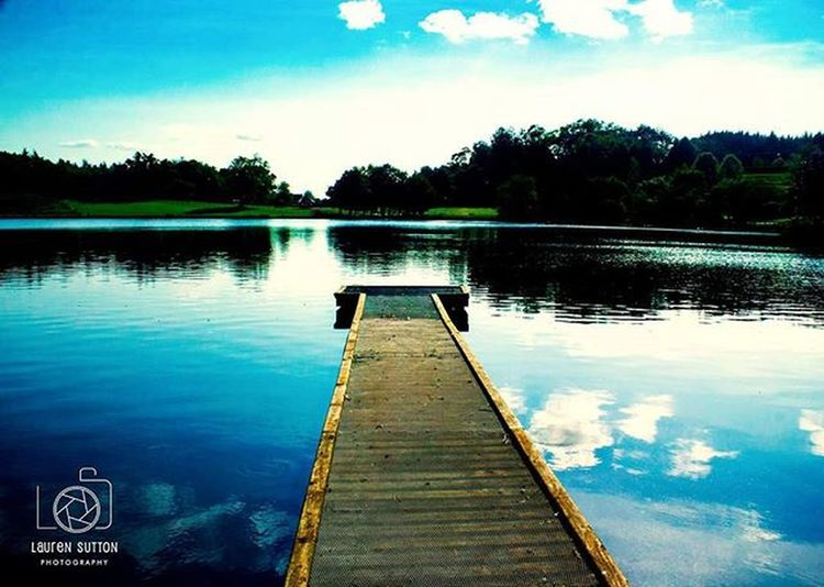 The lake :-) Lake Dungannon Dungannonpark Tyrone Water River Walk Park Northernireland PureNorthernIreland Discovernorthernireland Reflect Reflection Blue Sky Clouds Picoftheday Pier Photographerslife Photography Lough Trees ForestPark Peaceful