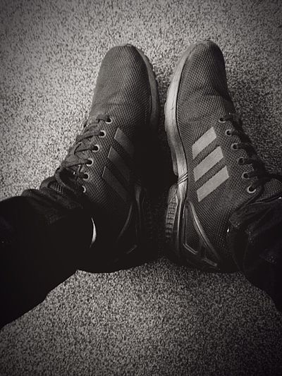 Waiting of chance Follow @Darkvusion Blackandwhite Shoes Relaxation Footwear Personal Perspective Dark Waiting