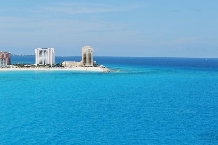 Parasailing Cancun Mexico Cancun Strip Holiday Ocean Beach