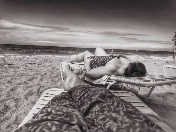 Relaxation Adults Only Only Women Young Adult One Woman Only One Person Young Women Adult Beach One Young Woman Only Sand Lying Down People Leisure Activity Getting Away From It All Vacations Summer Women Beauty Cloud - Sky Eyemgallery Eyemdaily Eyemlike Eyemfollow PuertoRico Beach