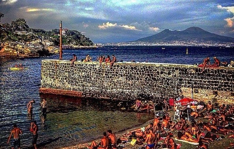 _Come un regalo ogni mattina. 💙 Bellanapoli Napoliphotoproject Napoli Naples Spiaggia Gaiola  Love Sole Instanapoli Instaphoto Instaitalia Foto_napoli Photoitaliane Sky Sea Mare Cloud Sun Colors Ig_naples Igersnapoli Photo Picoftheday Tflers Photoofthday #follow