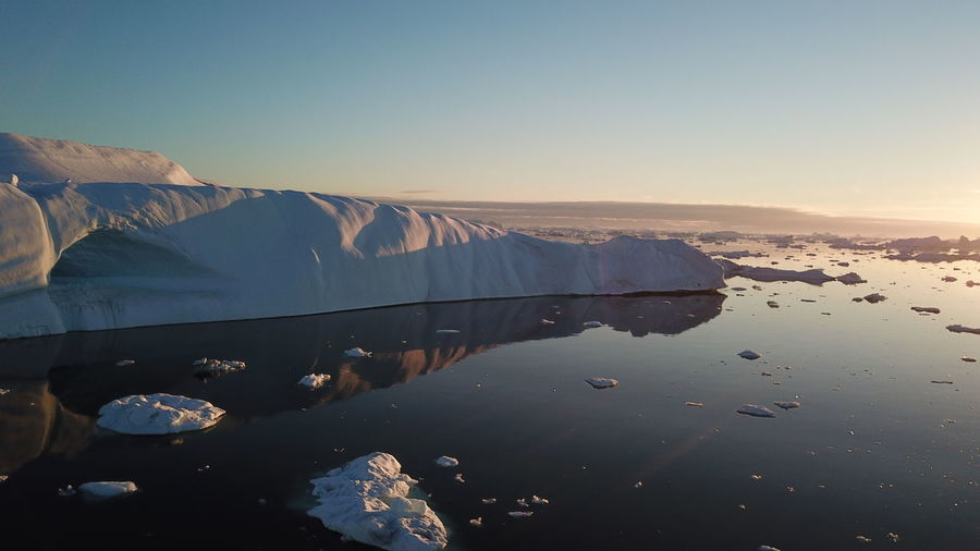 the water is very still.... Drone  Drone Shot EyeEm Best Shots EyeEm Best Shots - Nature Icebergs Ilulissat Ilulissat Icefjord Reflection The Real Greenland This Is Greenland Drone Photography Dronephotography Droneshot Iceberg Iceberg - Ice Formation Mavic Pro Reflections Reflections In The Water
